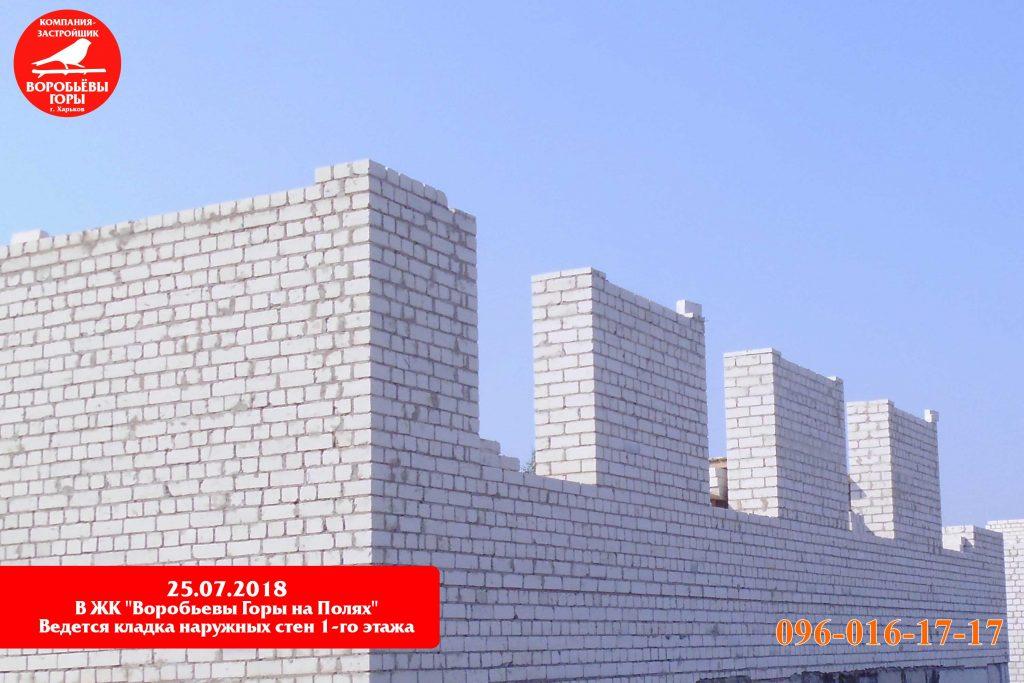 Строительство в ЖК«Воробьевы горы на полях» не останавливается ни на минуту!
