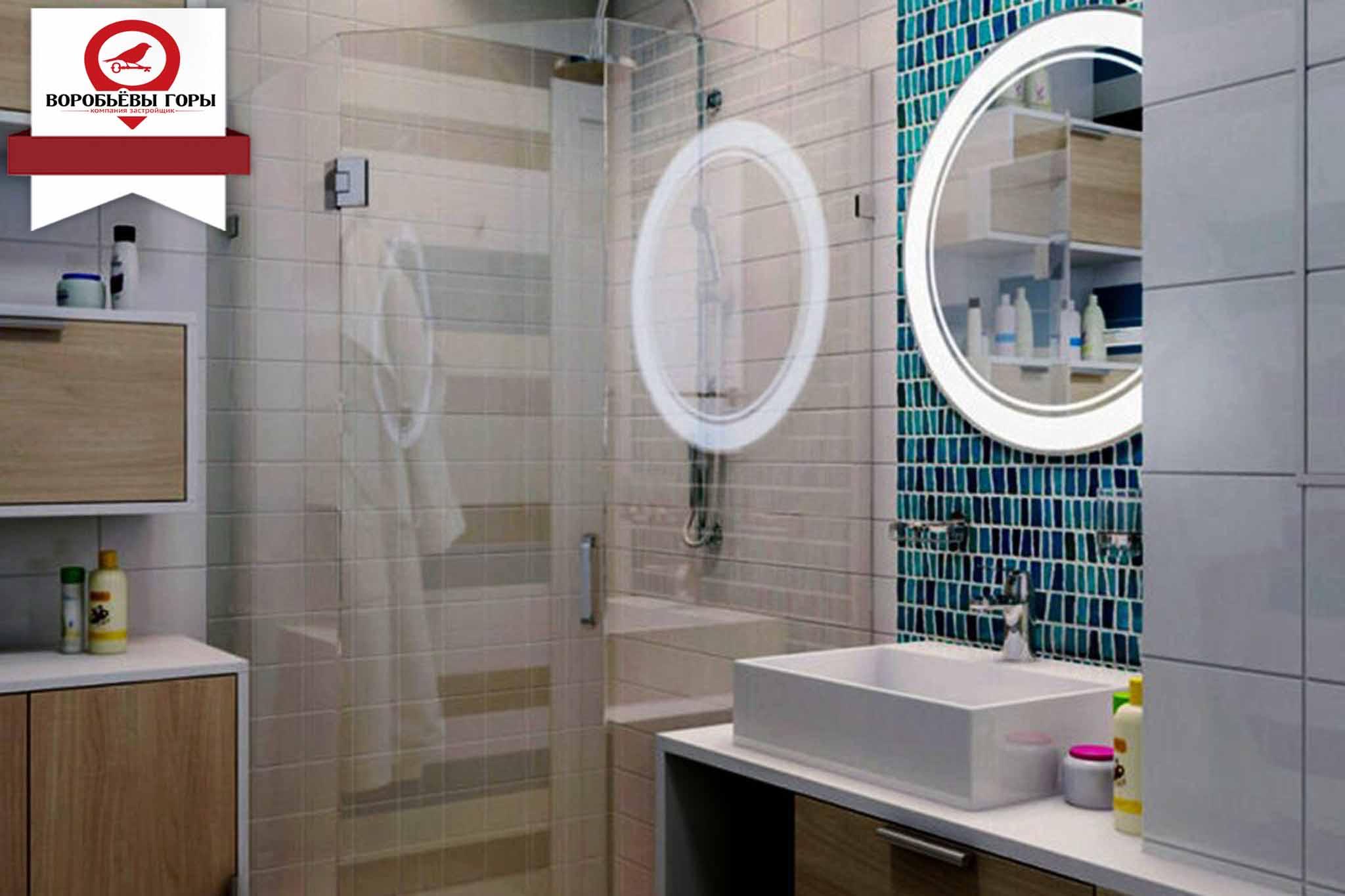 Как сделать душ в гостинке?