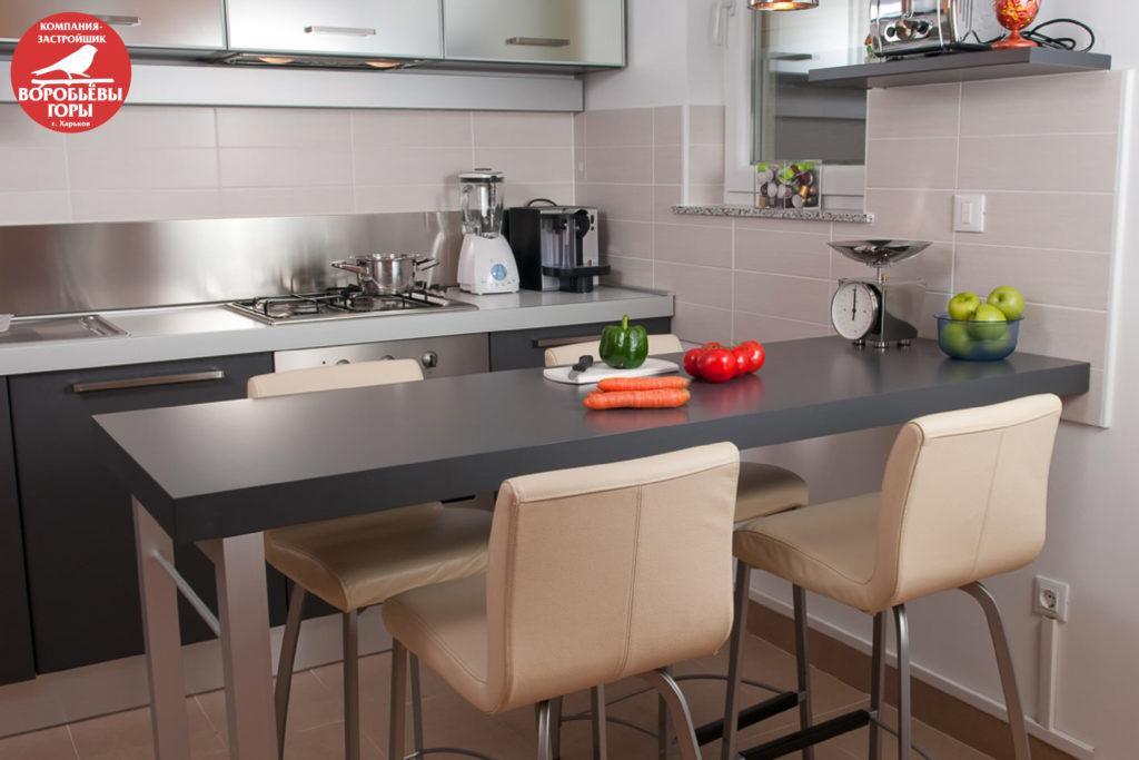 кухня в смарт квартире