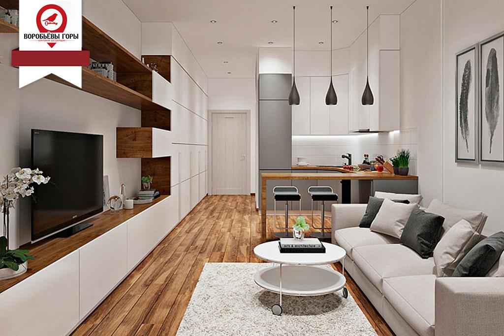 Как выглядит квартира гостинка?
