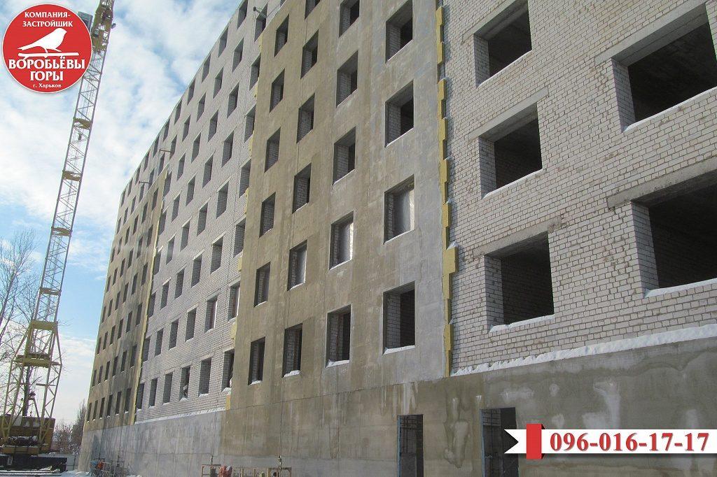 Новости со строительной площадки ЖК «Воробьевы горы-8»