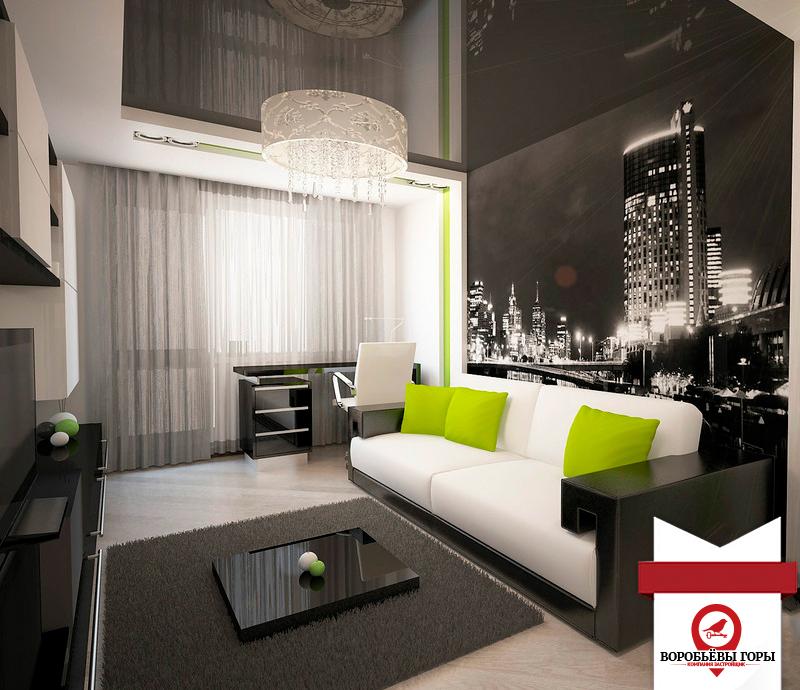 Один из самых популярных дизайнов гостинок