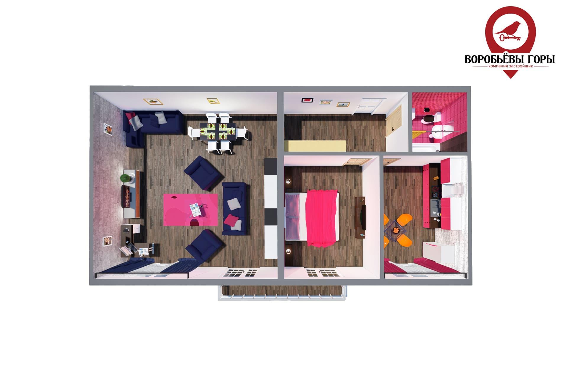 Что лучше выбрать – однокомнатную или двухкомнатную квартиру