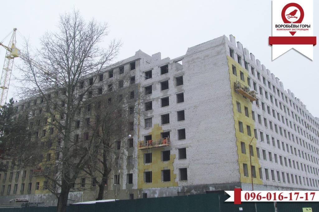 Как продвигается строительство восьмого комплекса в ЖК «Воробьевы горы»