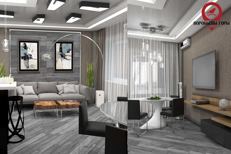 Особенности дизайна двухкомнатной квартиры