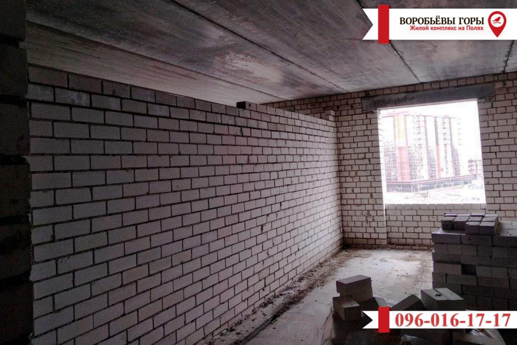 Новости о строительстве дома в ЖК «Воробьевы Горы на Полях»