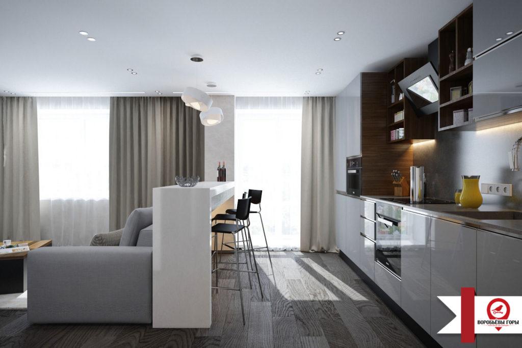 Основные и самые популярные приемы зонирования гостиной