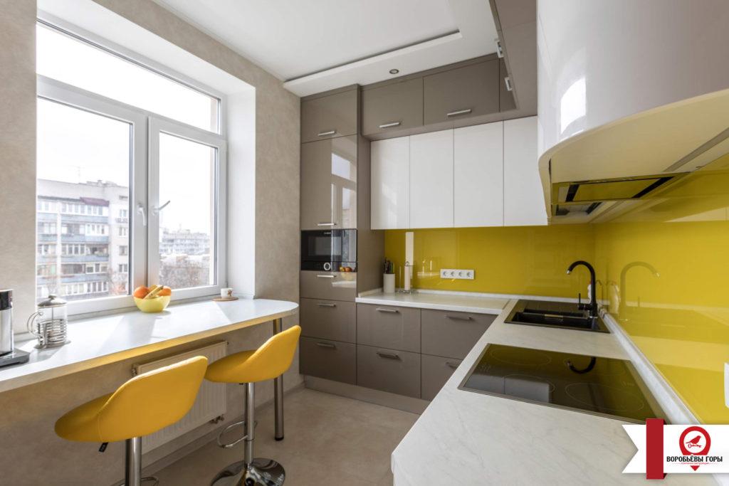 Виды планировки кухни