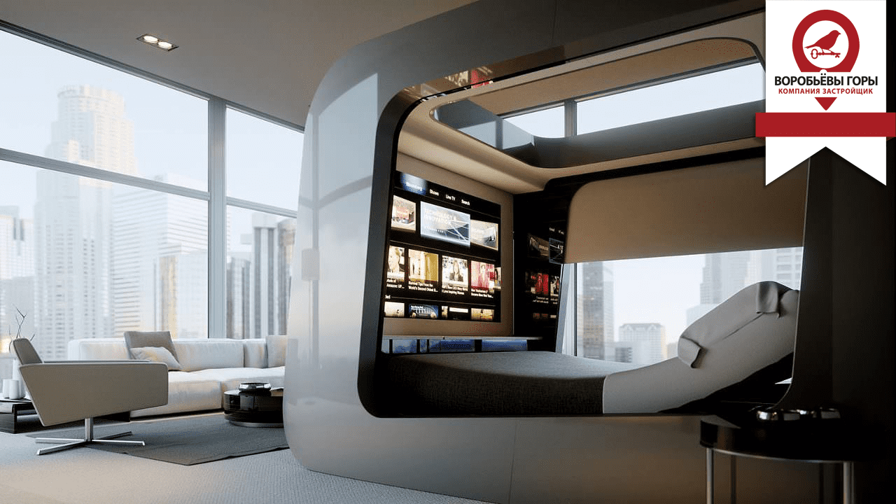 Дизайн интерьера «Хай-Тек»
