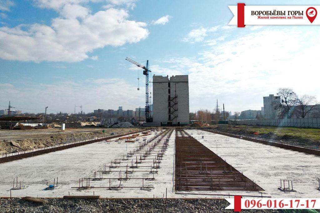 Как продвигается строительство жилого комплекса «Воробьевы Горы на Полях»?