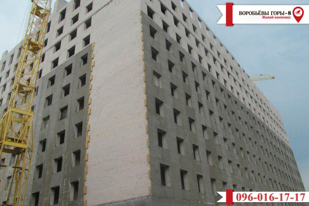 Актуальная информация о строительстве ЖК «Воробьевы горы-8»