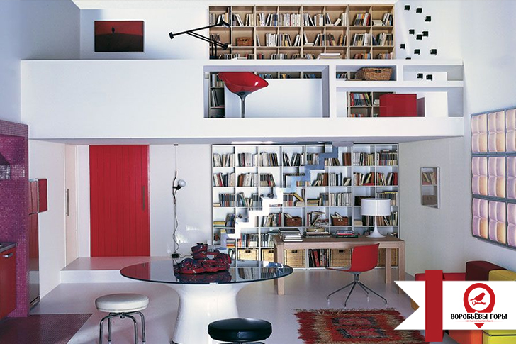 Идеи красивого интерьера однокомнатной квартиры