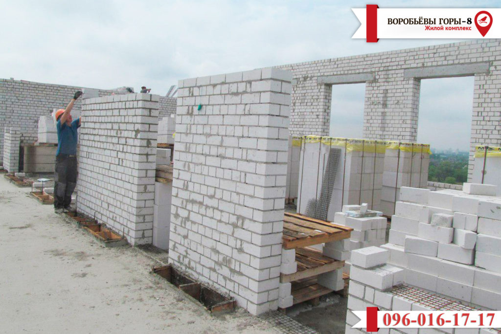 Как движется строительный процесс ЖК «Воробьевы горы-8»?