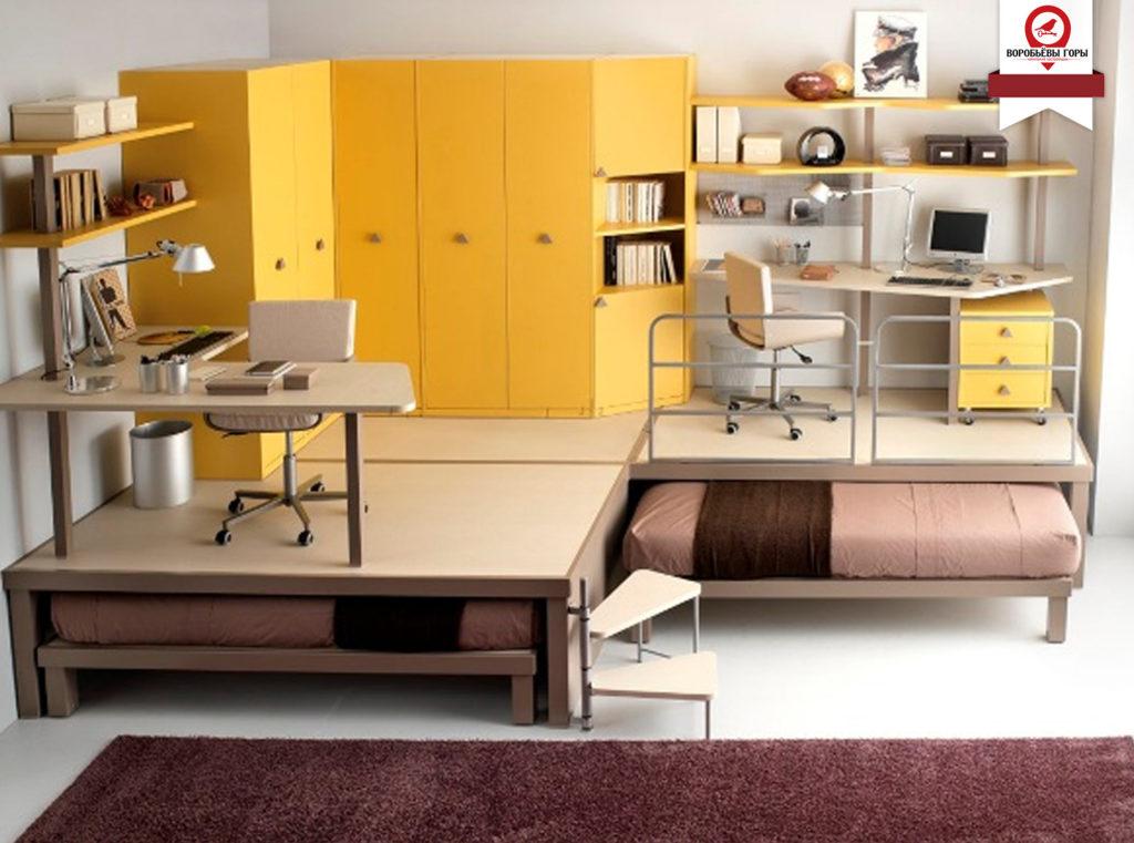 Несколько хитростей от дизайнеров для идеального дизайна квартиры - студии.