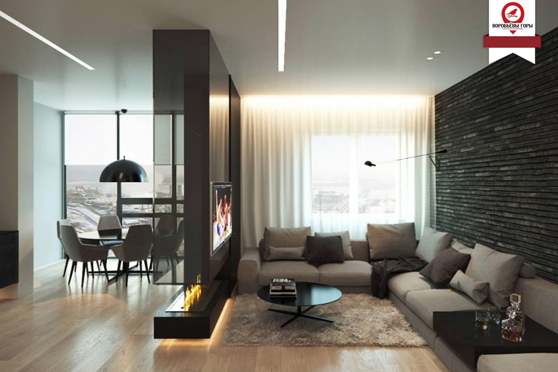 Несколько хитростей от дизайнеров для идеального дизайна квартиры — студии