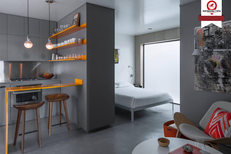 Несколько хитростей от дизайнеров для идеального дизайна квартиры — студии.