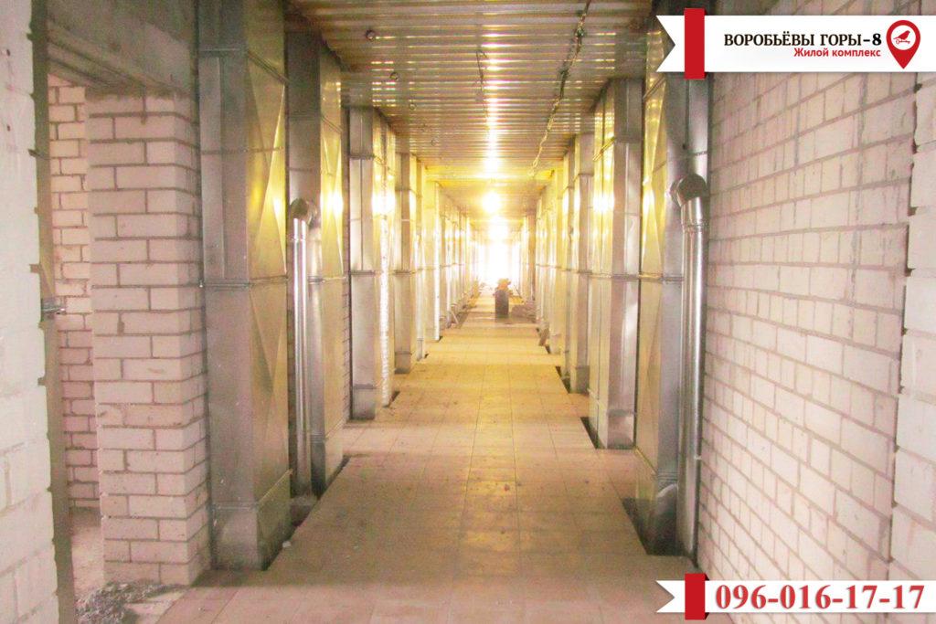 Есть новая информация о том, как строится восьмой комплекс ЖК «Воробьевы Горы»