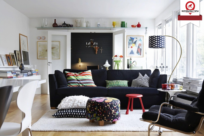 Варианты дизайна квартир-студий