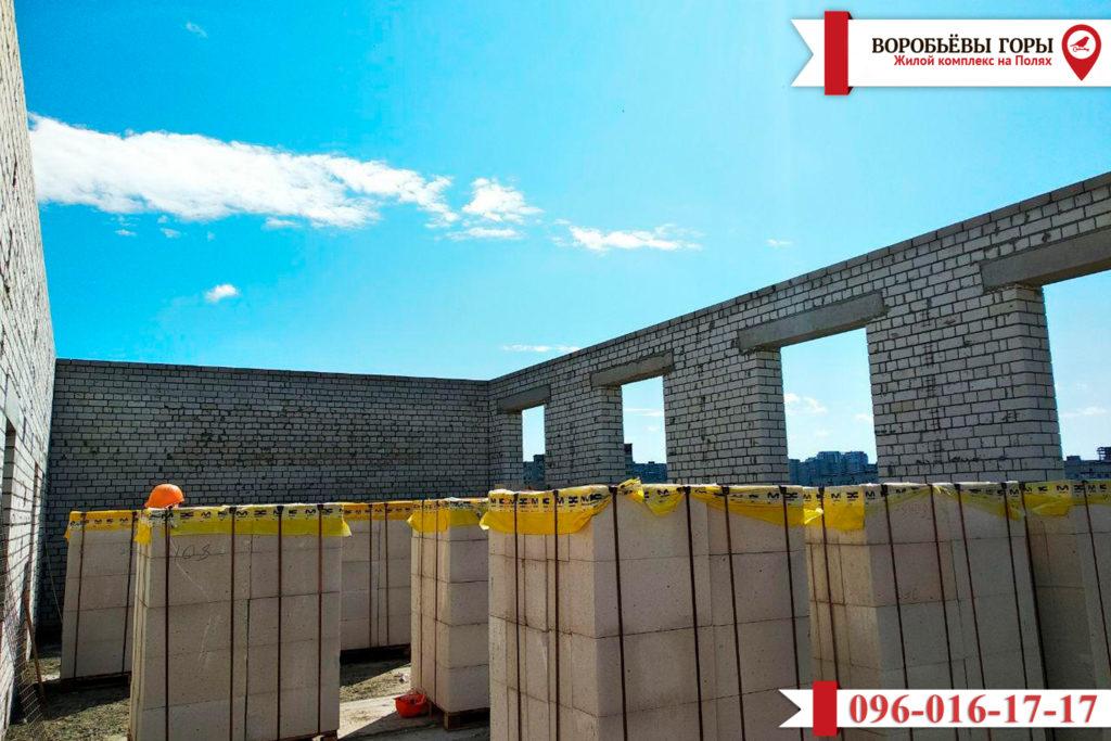 Новости строительства ЖК «Воробьевы Горы на Полях»