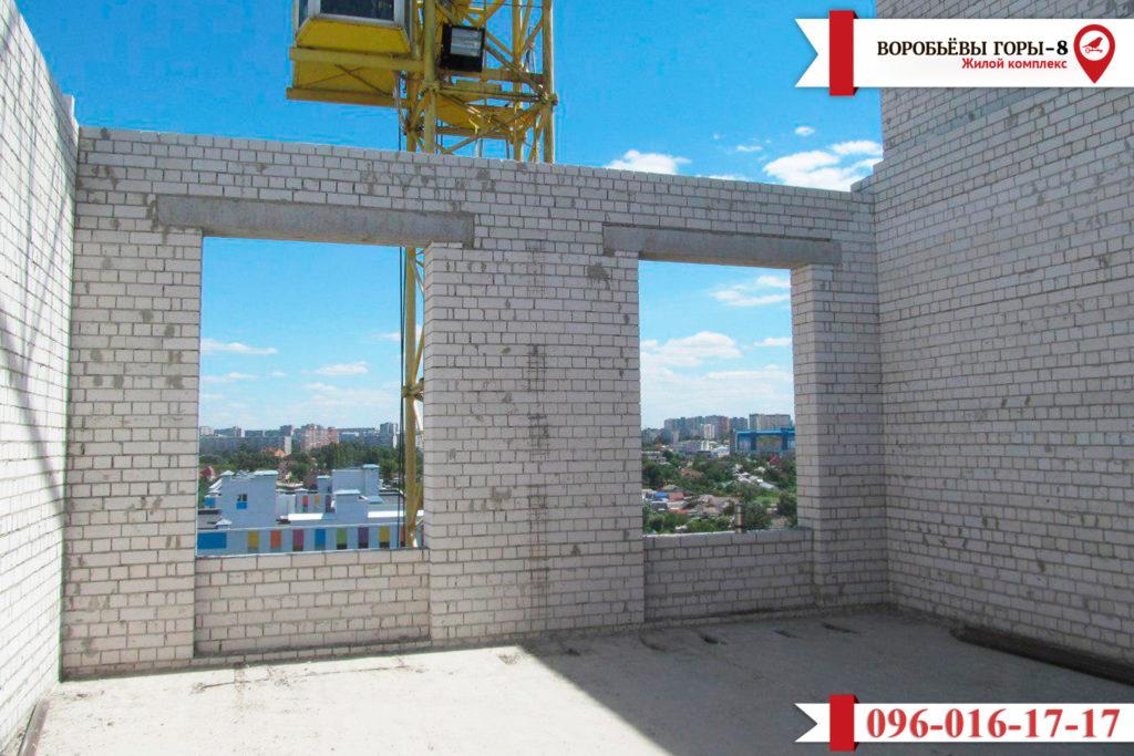 Появились новости о строительстве восьмого комплекса «Воробьевы Горы»