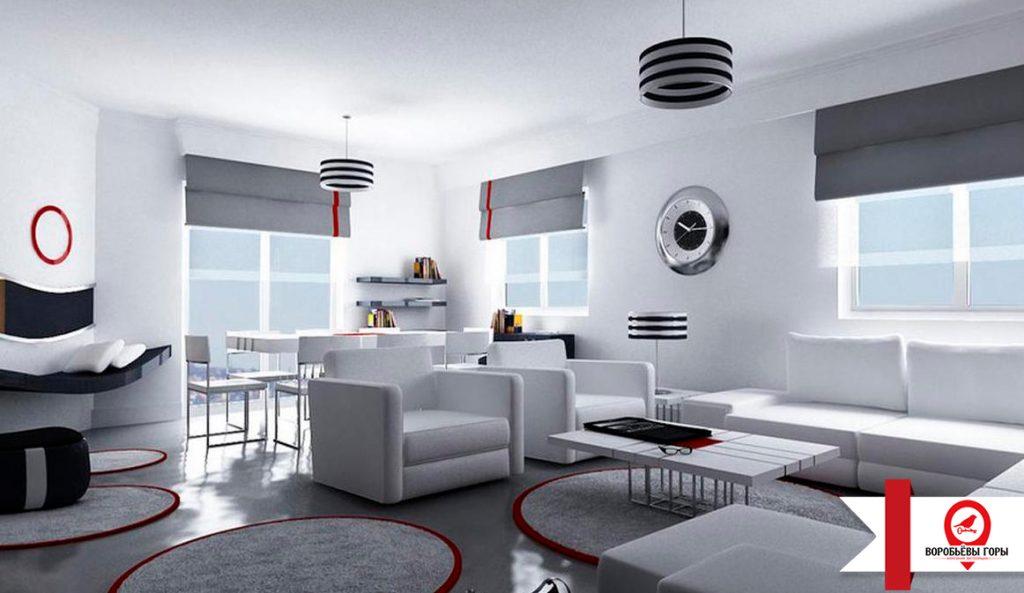 Правда ли, что стиль Хай-Тек визуально увеличивает пространство квартиры?