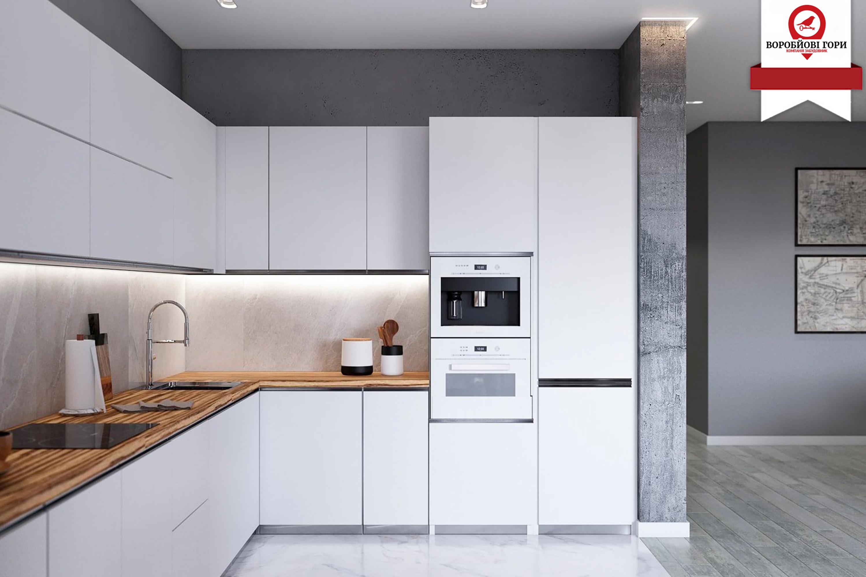 Скільки максимум місця на кухні може займати меблі?