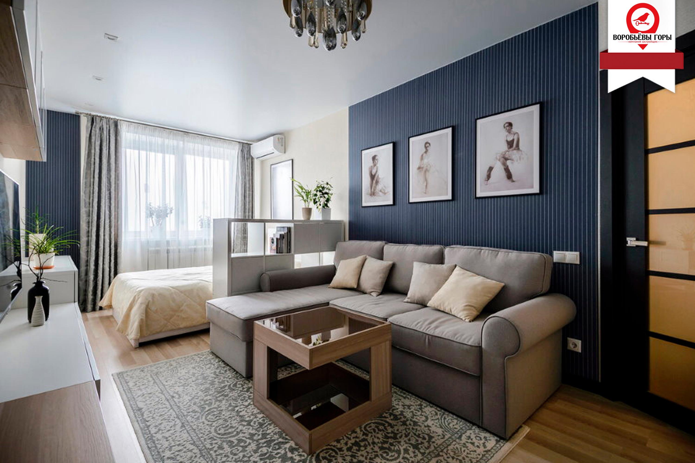 Правильная расстановка мебели в однокомнатной квартире. Топ советов