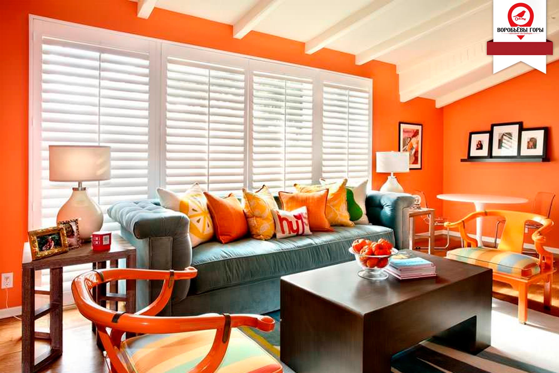 Яке значення має поєднання кольорів в стилі інтер'єру?