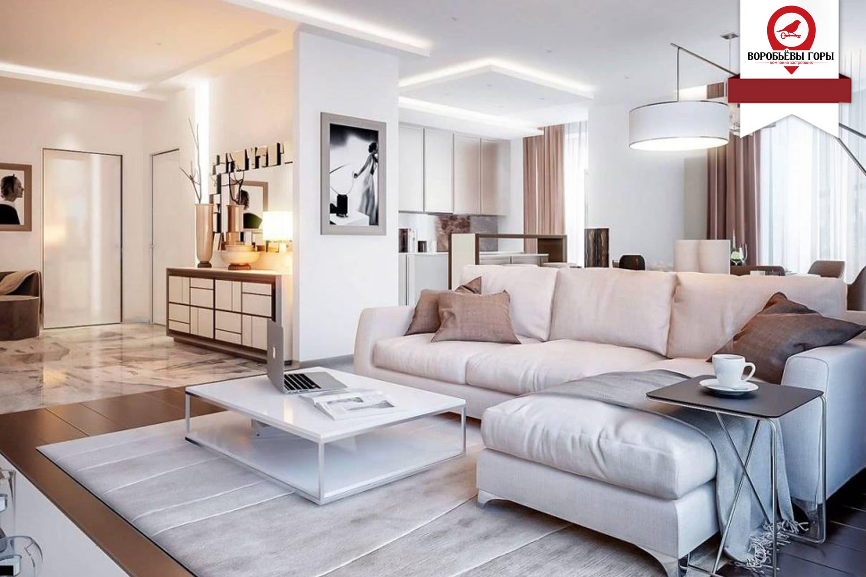 Какой стиль интерьера может визуально увеличить однокомнатную квартиру?