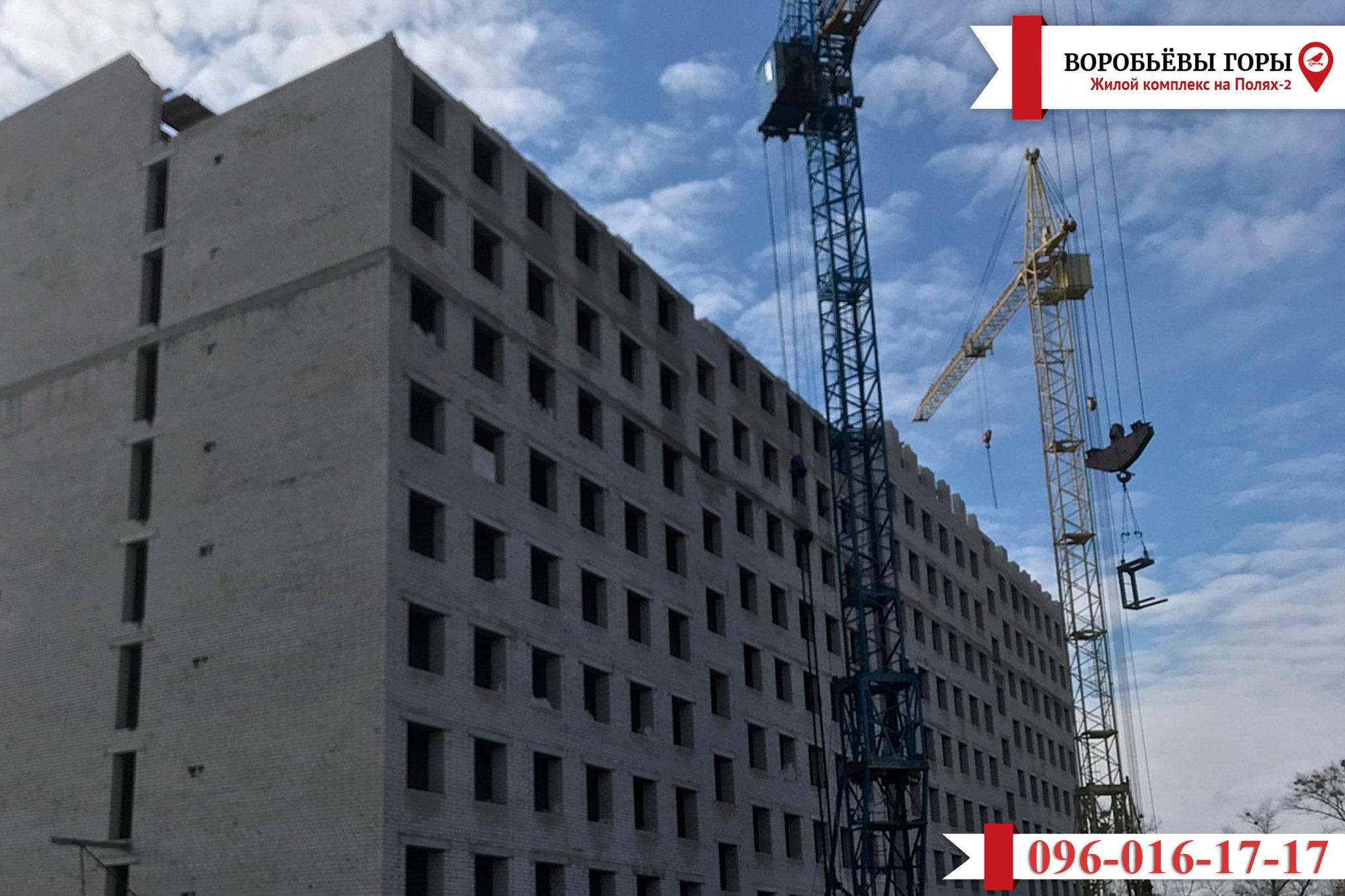 Новости о строительстве ЖК «Воробьевы Горы на Полях»
