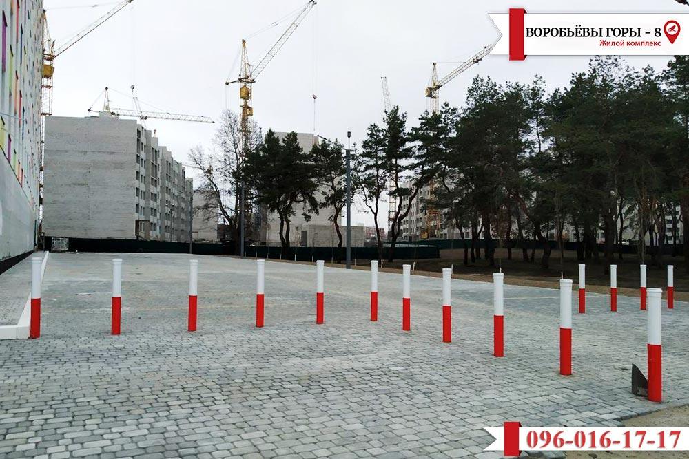 """Свежая информация о строительстве ЖК """"Воробьевы горы-8"""""""