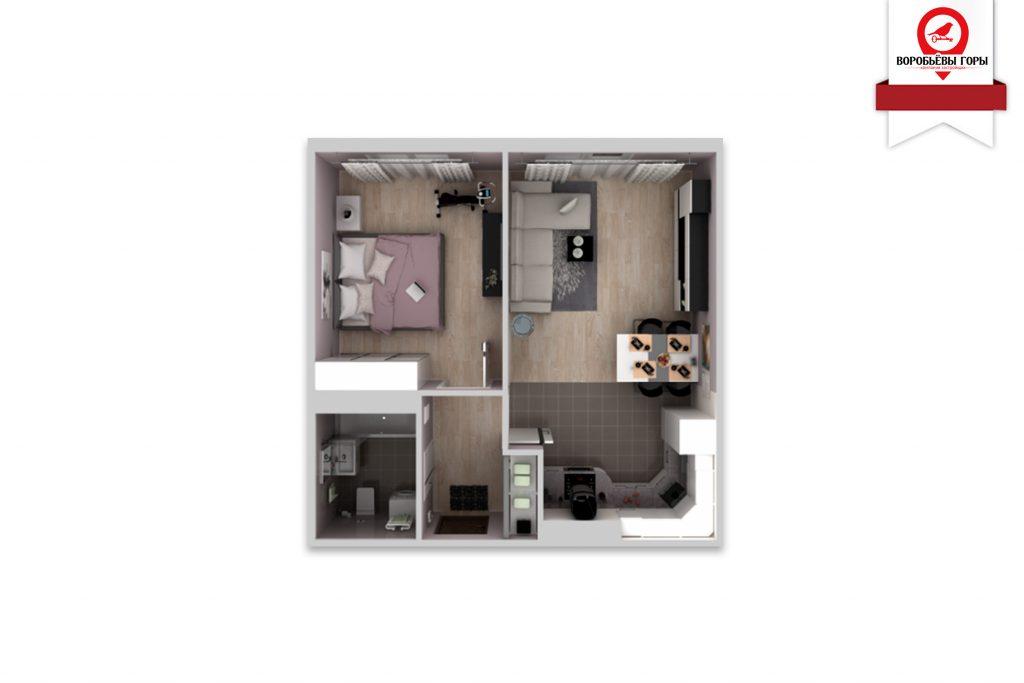 В чем преимущества двухкомнатной квартиры перед однокомнатной?