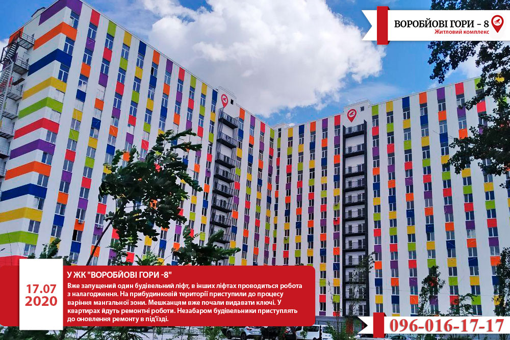 Що відомо про житловий комплекс «Воробйові гори-8»?