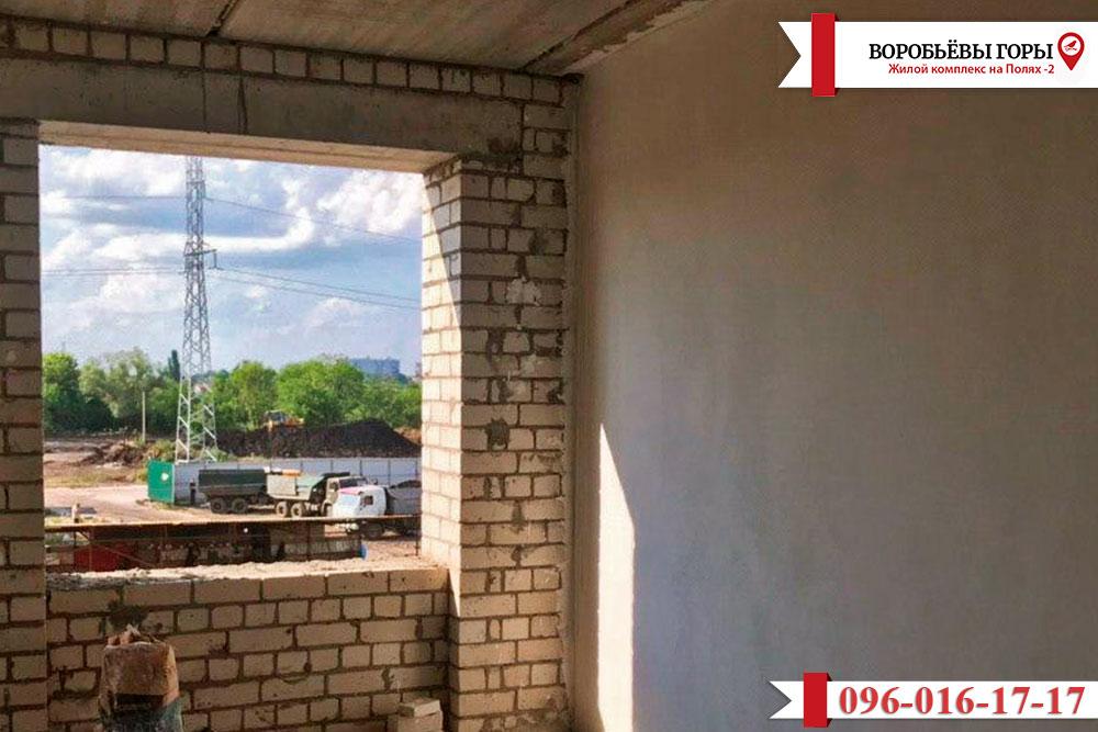 """Как идут строительные работы в комплексе """"Воробьевы Горы на Полях-2""""?"""