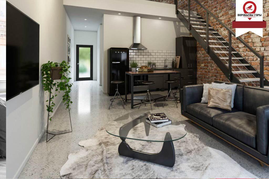 """Почему стоит выбирать стиль """"Лофт"""" для своей квартиры."""
