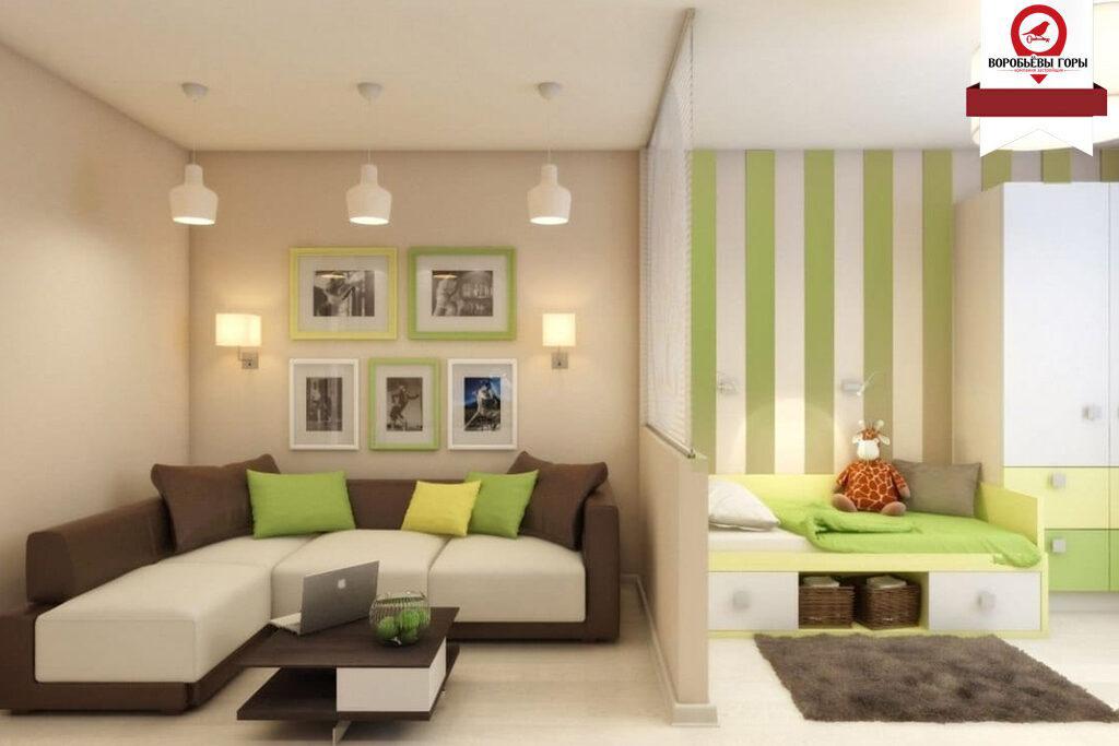 Удобно ли объединение комнат в квартире