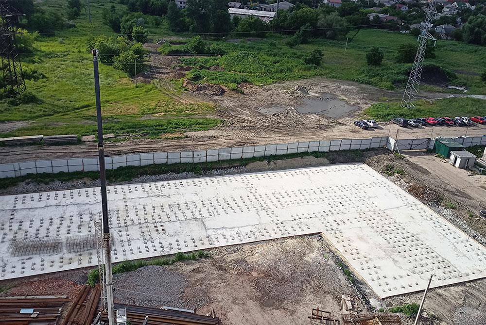 В ЖК «Воробьевы горы Family» идут подготовительные работы по заливке фундамента