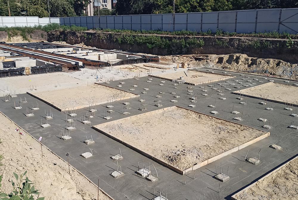 В ЖК «Воробьевы горы Pro» приступили к монтажу фундаментных блоков